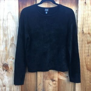 Ultra Soft Eileen Fisher Black Sweater Medium